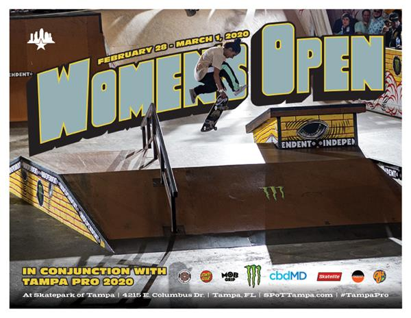 1st Annual Women's Open at Tampa Pro 2020