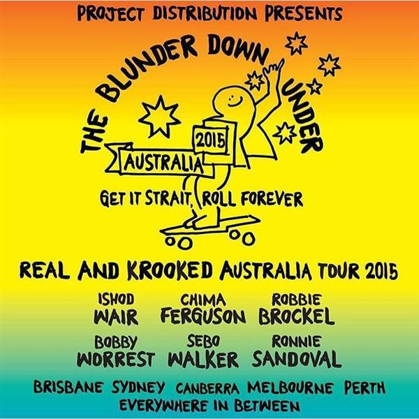 The Blunder Down Under - Sydney 2015
