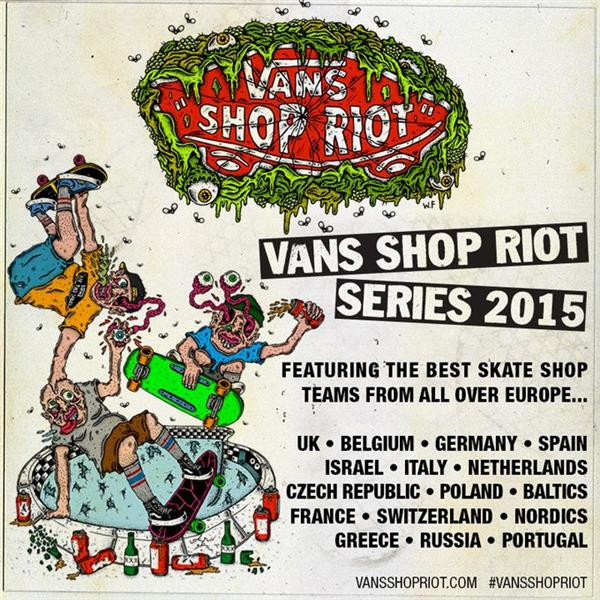 Vans Shop Riot - France 2015