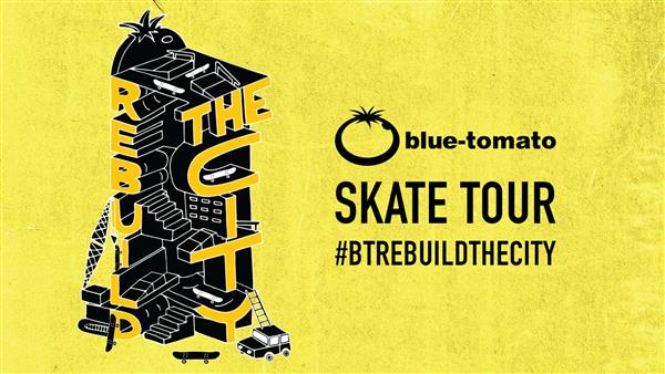Blue Tomato Rebuild The City Tour - Skatepark Auhof - Wien - Austria 2018