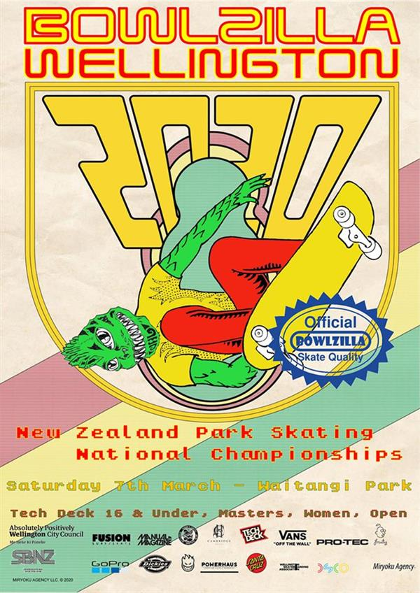 BOWLZILLA™ - New Zealand National Park / Bowl Skating Championships - Wellington 2020