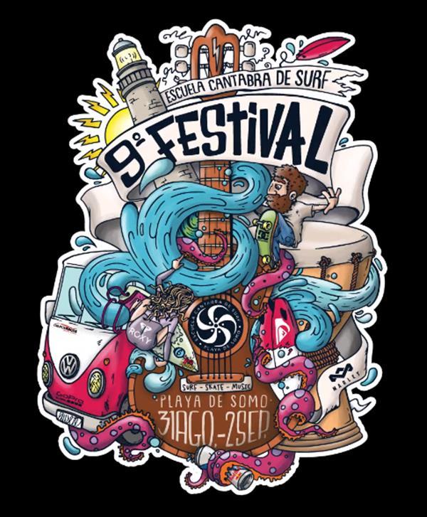 Cantabra Surf School Festival / Festival Escuela Cántabra 2018