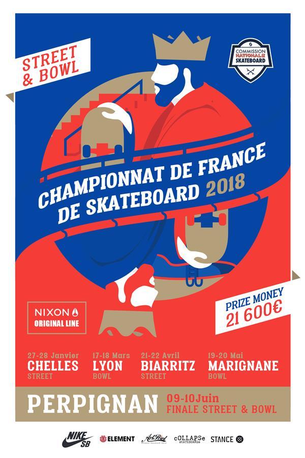 Championnat de France de Skateboard - stop #4 Marignane 2018