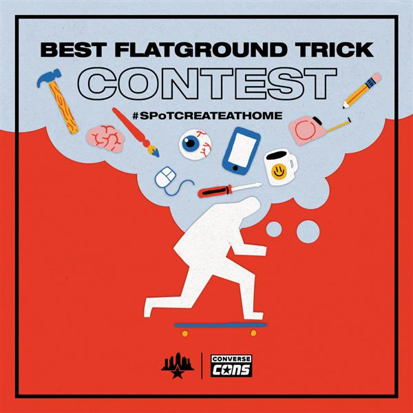 Competition to Find the Best Flatground Trick! | Image credit: SPoT
