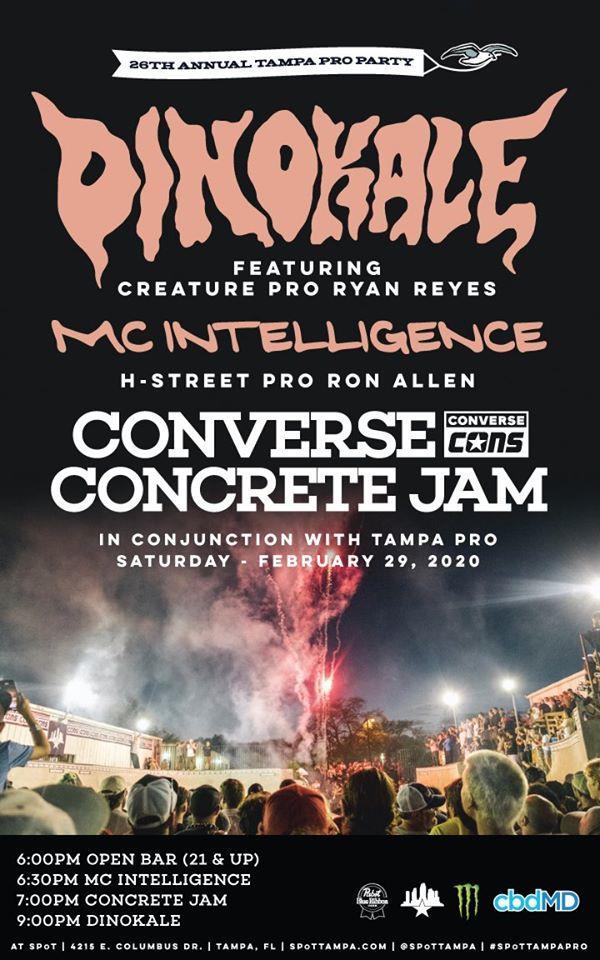 Converse Concrete Jam at Tampa Pro 2020