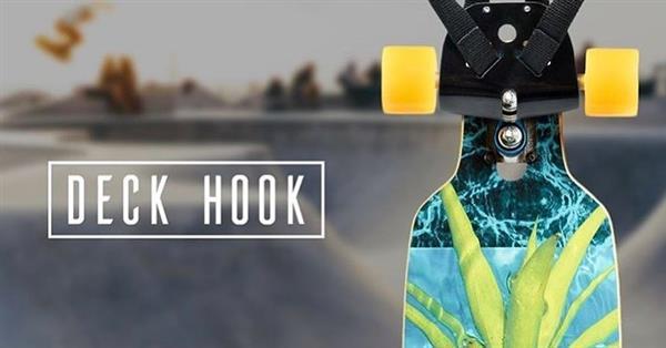 Deck Hook - A Master Board Carrying Solution! | Image credit: Deck Hook