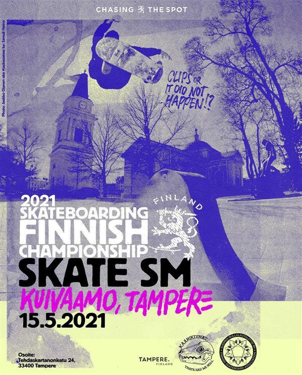 Finnish Skateboarding Championships - Tampere 2021