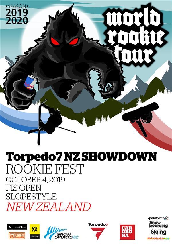 Torpedo 7 New Zealand Showdown Rookie Fest / FIS Race SS - Cardrona 2019