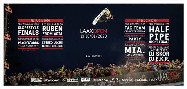 FIS World Cup - Laax Open 2020