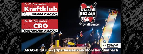 FIS World Cup Moenchengladbach - ARAG Big Air Freestyle Festival 2017