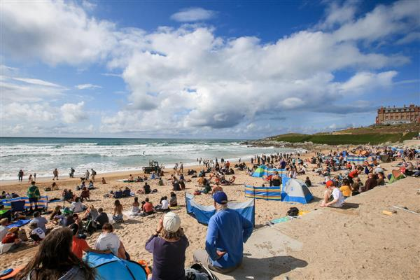 Fistral Beach | Image credit: WSL/LAURENT MASUREL (Boardmasters 2019, August 10)