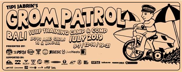 Grom Patrol Bali - Event #2 2019