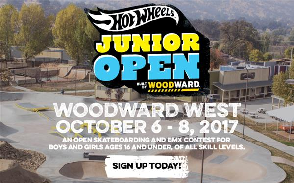 Hot Wheels™ Junior Open, Built by Woodward 2017