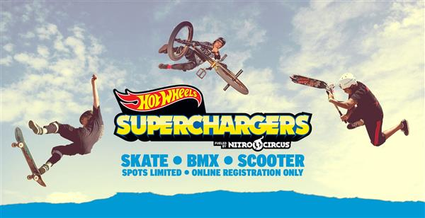 Hot Wheels Superchargers Fueled by Nitro Circus Virtual Competition 2020