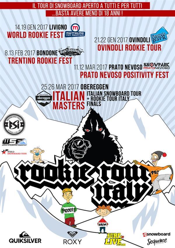 Italian Rookie Tour, Ovindoli 2017