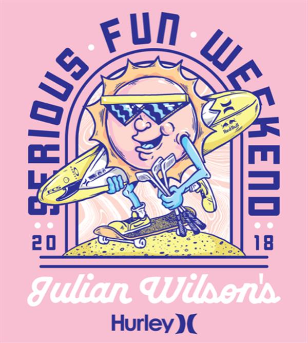Julian Wilson's Serious Fun Weekend 2018