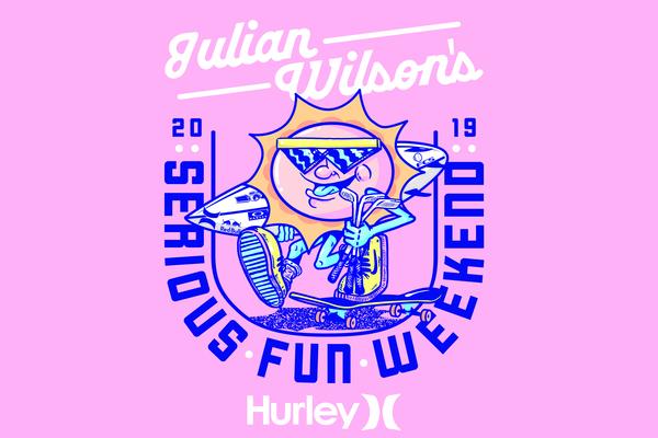 Julian Wilson's Serious Fun Weekend 2019