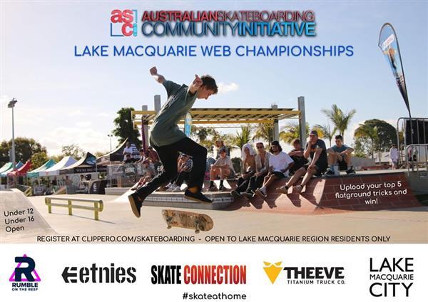 Lake Macquarie Skateboarding Web Championships 2020