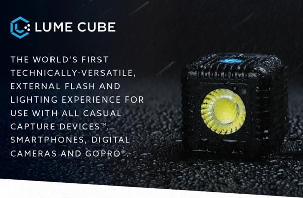 Light the night with Lume Cubes!