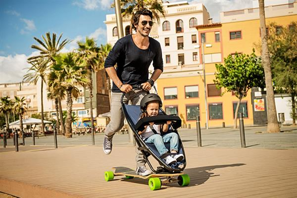 Rock the Streets with a Longboardstroller! | Image credit: Quinny