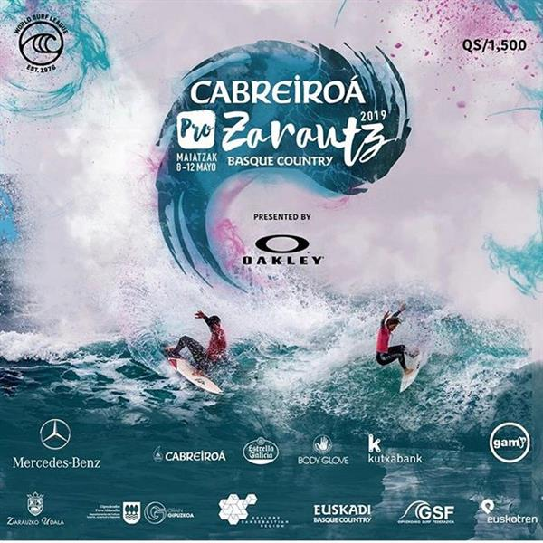 Men's Cabreiroá Pro Zarautz Basque Country pres. by Oakley 2019