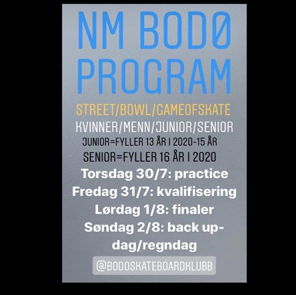 Norwegian Skateboarding Championships - Bodo 2020