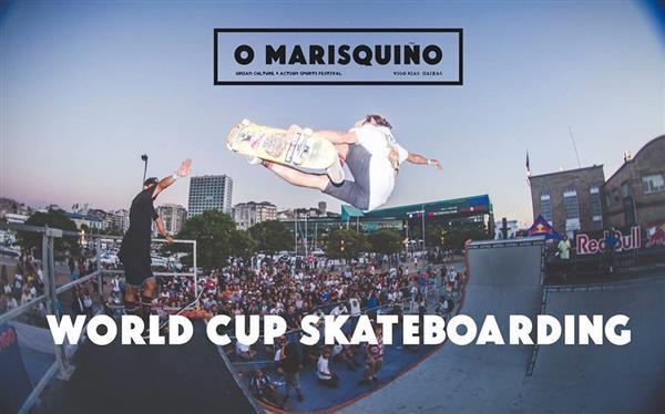 O'Marisquiño - World Cup Skateboarding 2018