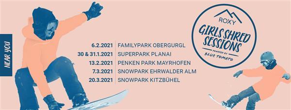 QParks Girls Shred Session - Penken Park Mayrhofen 2021