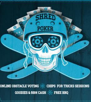 QParks Shred Poker - Pizol 2019
