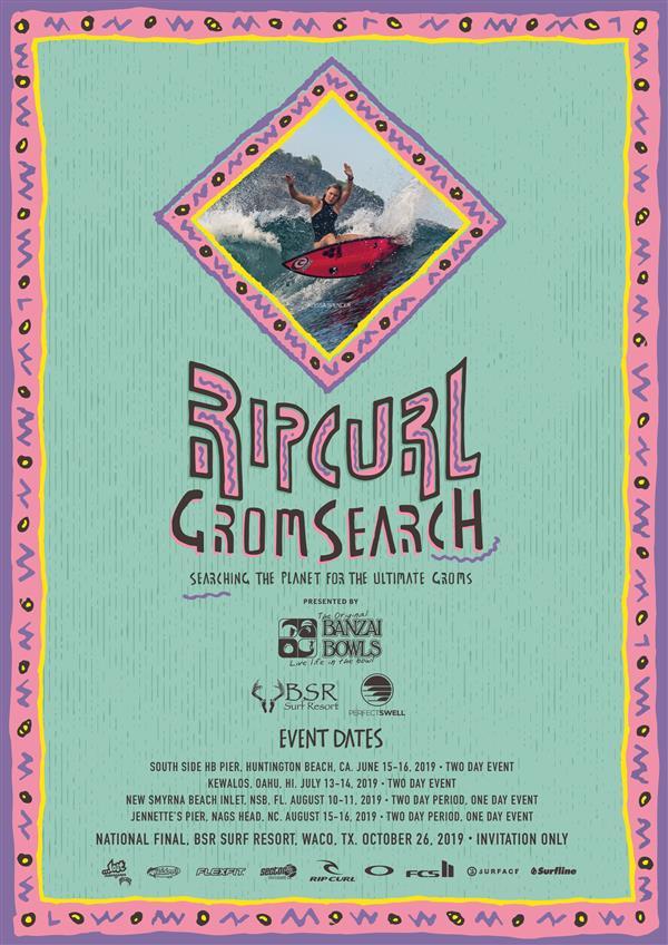 Rip Curl North American GromSearch #3 - Florida 2019