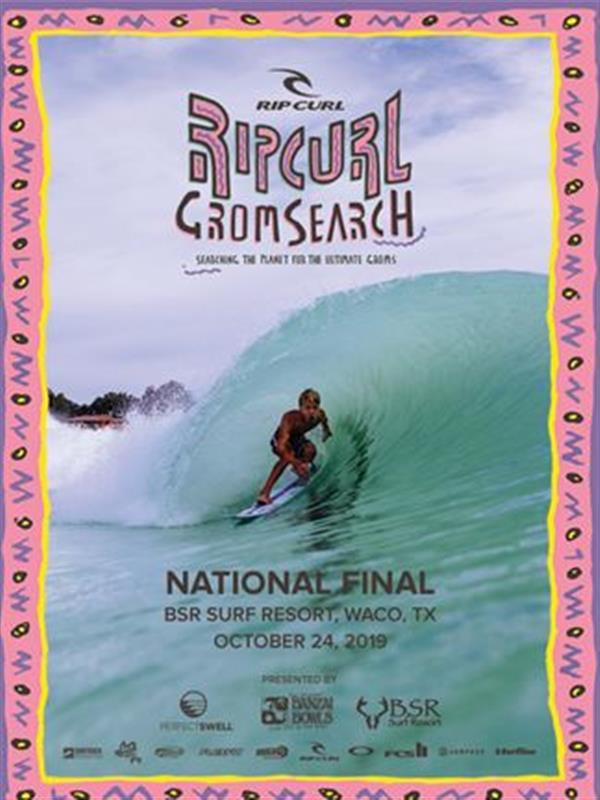 Rip Curl North American GromSearch #5 - National Final - Waco, Texas 2019