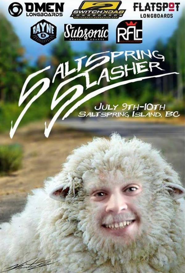 Salt Spring Slasher 8 2016