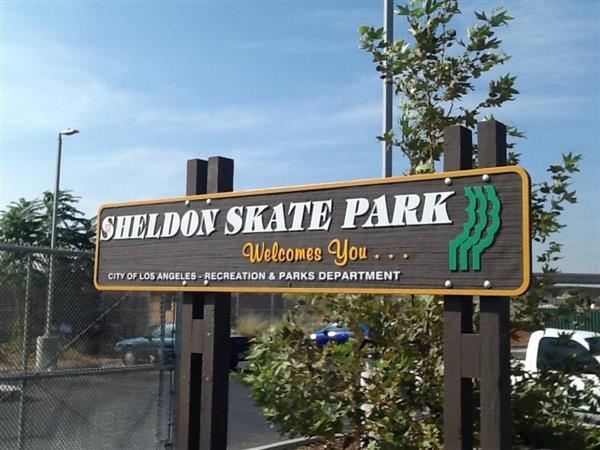 Sheldon Skate Park - LA