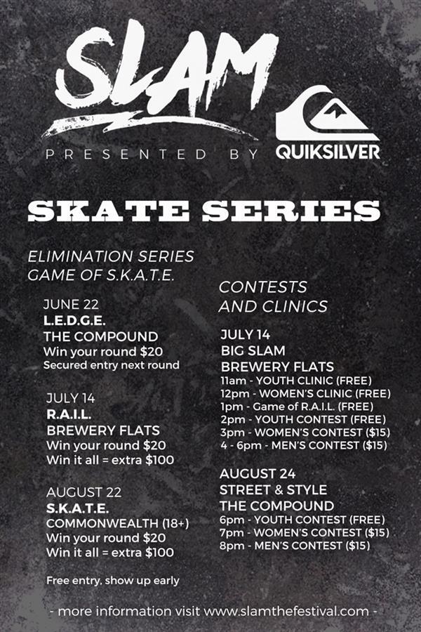 Slam Skate Event 1 2018