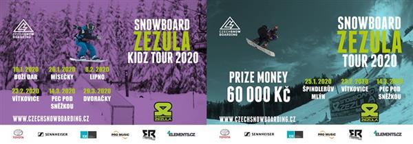 Snowboard Zezula Tour - Spindleruv Mlyn - Big Air 2020