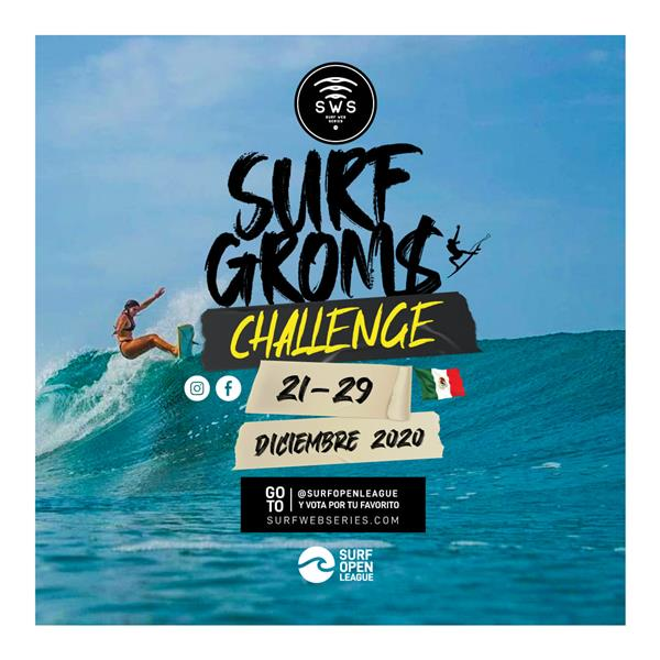 Surf Web Series - Groms Challenge Mexico 2020