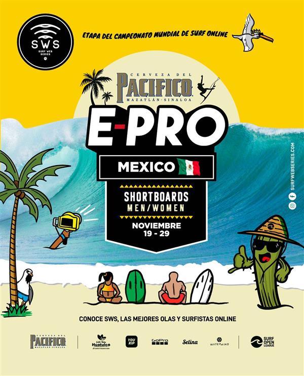 Surf Web Series - Pacifico E-Pro Mexico 2020