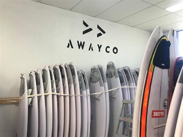 Surf your way around the globe, super simply.   Image credit: AwayCo / Onboard Store Mona Vale