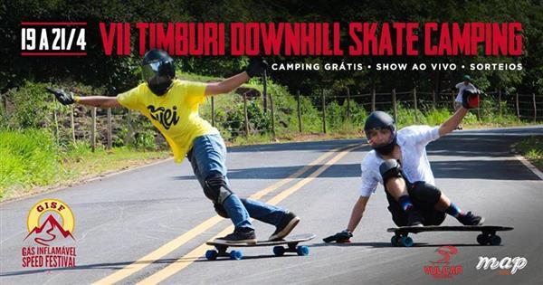 Timburi Downhill Skate Camping 2019