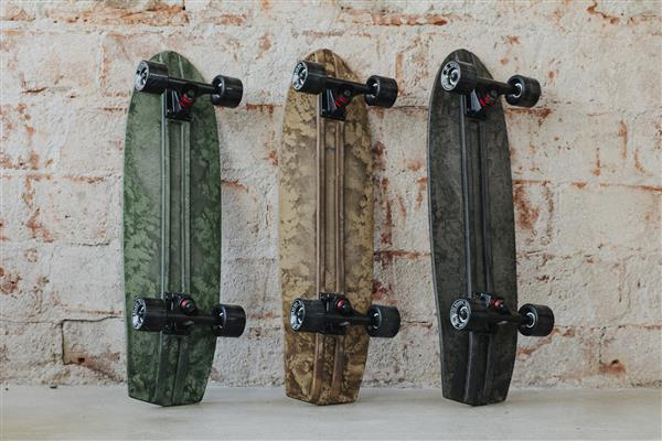 Uitto - The Biocomposite Skateboard