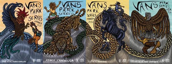 Vans Park Series - Pro Tour - Montreal, Canada 2020