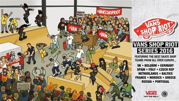 54d2cd8e37 Vans Shop Riot - Greece 2016