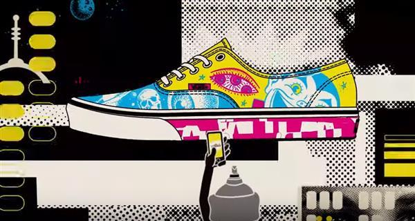 Win £20,000 in Vans Shoe Customisation Contest | Image credit: Vans