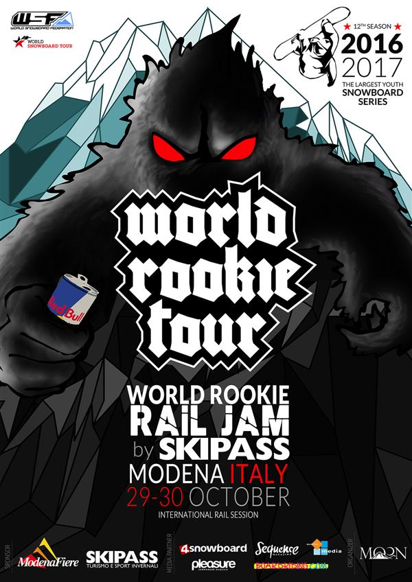 World Rookie Rail Jam by Skipass, Modena, Italy 2016