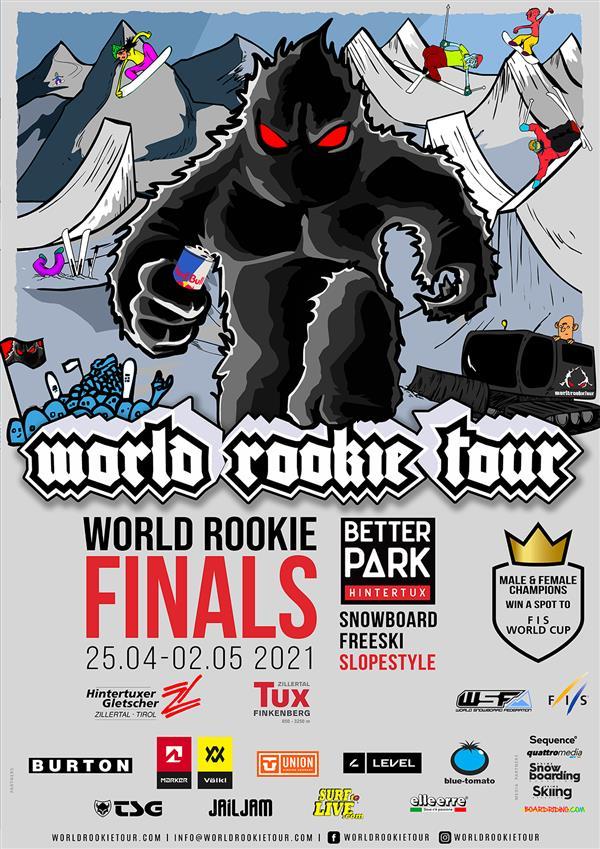 World Rookie Snowboard Finals - Hintertux, Austria 2021