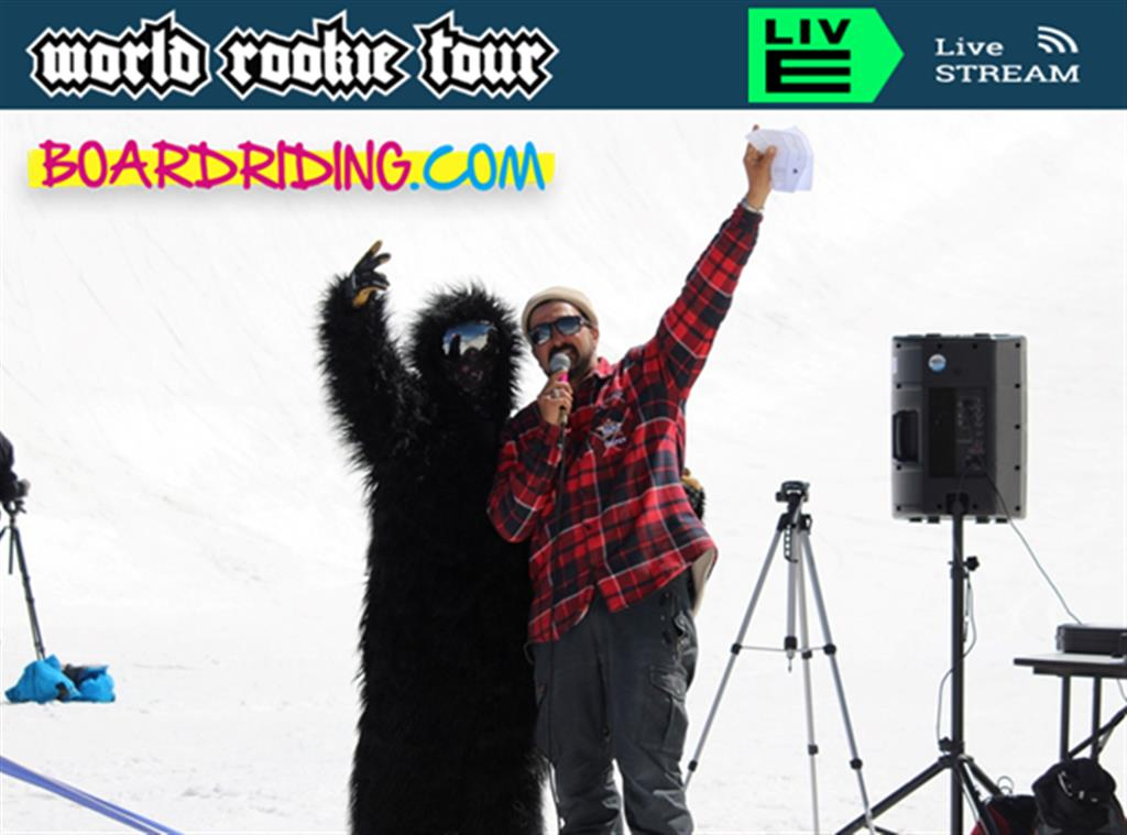 2021 WRT Finals will stream LIVE on Boardriding.com's FB page @boardridingworld & also YouTube Channel, start each day TBC, local time is CEST (UTC+2 hours): Freeski Qualies TUE April 27, Finals WED April 28, Snowboard Qualies FRI April 30, Finals SAT 1 May. Image credit: The Black Yeti / World Rookie Tour