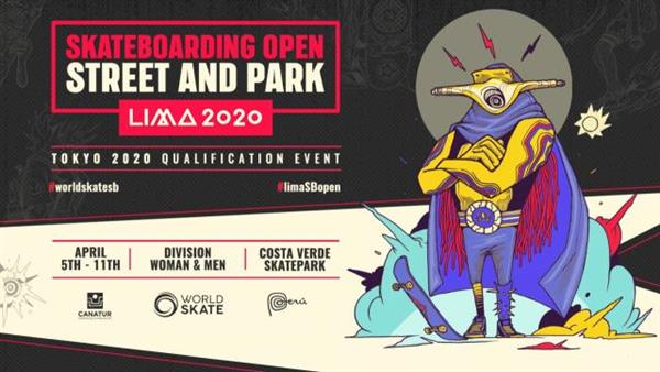 World Skate Lima Open Street & Park - Olympic Qualification Event 2020