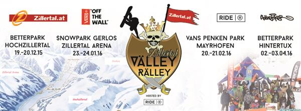 Zillertal VÄLLEY RÄLLEY hosted by Ride Snowboards, Mayrhofen 2016