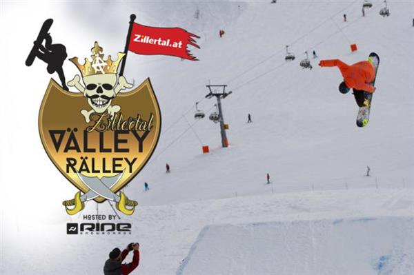 Zillertal VÄLLEY RÄLLEY hosted by Ride Snowboards, Snowpark Gerlos - Zillertal Arena 2016
