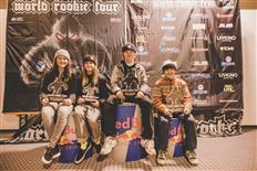 10 nations on the podium of the 2020 World Rookie Fest in Livigno, the 15th edition